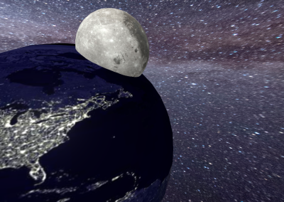 moon in Earth