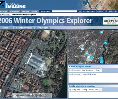 2006 Winter Olympics Explorer